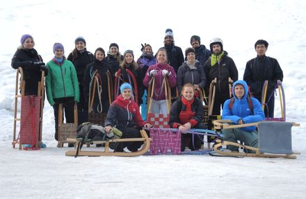 Sled adventure: The Oroboros-Team 2016-02-13
