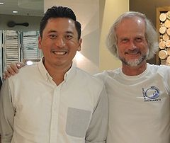 Anthony Molina (l) Erich Gnaiger (r) MiPschool Greenville 2015